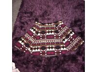 *Like New* Aztec High waisted Skirt