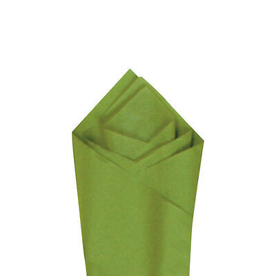 Aloe Green Quality Premium Grade Color Tissue Paper 20 X 30 24 Sheets Pack
