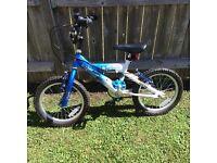 "Boys 16"" wheel Star Wars bike"