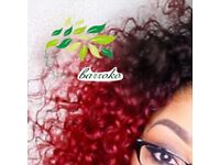 6pcs afro kinky curly brazilian bundles
