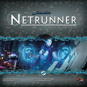 ANDROID NETRUNNER BOARD GAME - LIKE NEW