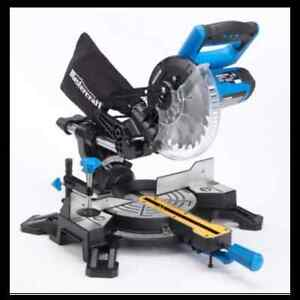 Mastercraft 10-in Sliding Mitre Saw with Laser