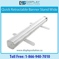 Order your banner stands from Display Solution now!