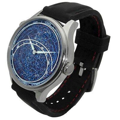 ASTRO Constellation Watch: planisphere astrodea celestial astronomy Citizen (Planisphere Watch)