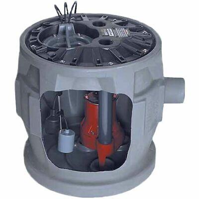 Liberty Pumps P382le41 - 410 Hp Pro380 Cast Iron Sewage Pump System 24x24