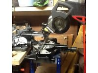 Evolution 1500w stealth slide mitre chop saw