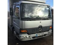 Ideal export Mercedes atego 22ft box Px poss swop maybe