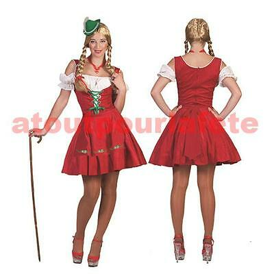 Déguisement de Tyrolienne,Bavaroise,adulte,femme costume,carnaval, - Kostüm Tyrolienne