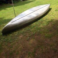 Aluminum canoe 16ft  good shape $450 or trade for ?