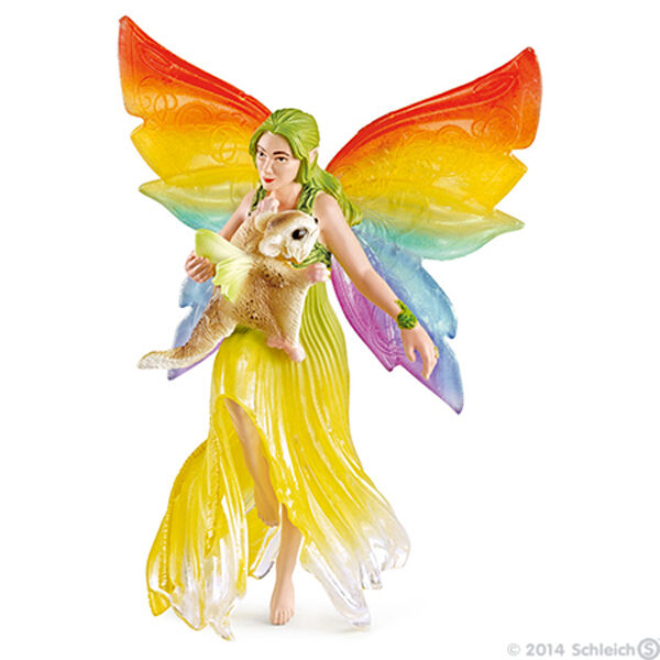 NEW SCHLEICH 70480 Meena & Flying Squirrel - Bayala Elf Fairy Elven Character