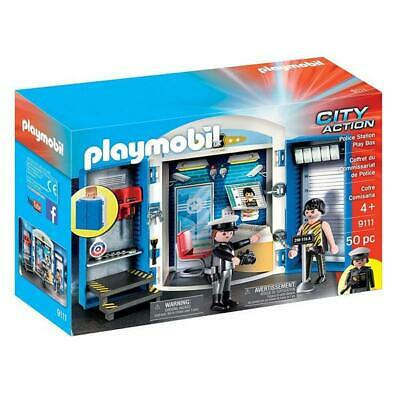 Playmobil City Action Police Station Play Box Building Set 9111 NEW Toys Kids