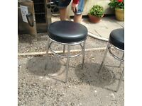 Low level bar stools