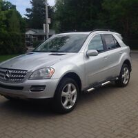 2006 Mercedes ML500 AMG pack GPS mags 19''
