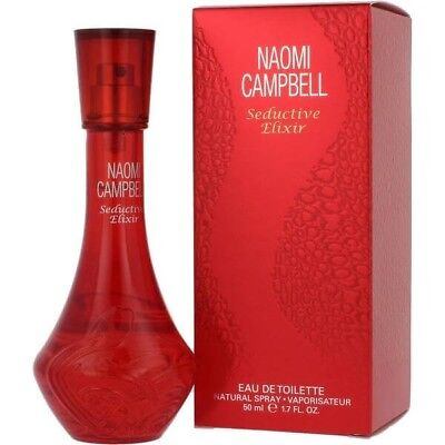 Seductive Elixir By Naomi Campbell Women Edt Spray 1 7 Oz 50Ml Authentic Germany