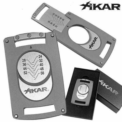 Xikar Ultra Slim Cigar Cutter - Silver (MSRP: $54.99)