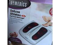 Homemedics deluxe foot massager