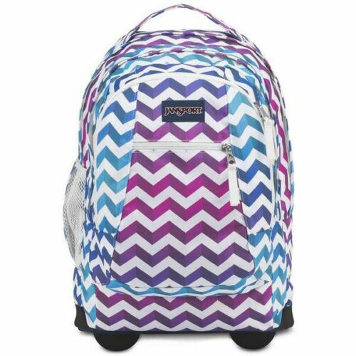 Jansport Driver 8 Rolling Wheeled Backpack, Shadown Chevron - $59.99