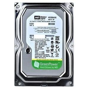 "Western Digital 320GB - 3.5"" Internal Power-saving Hard Drive - IntelliPower - 8MB Cache - SATA 3.0Gb/s - Bare Drive - W"