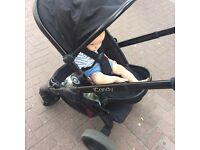 ICandy Peach baby buggy/pram- all black £220- RRP £640
