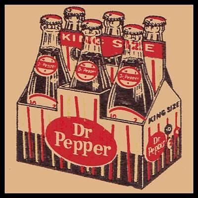 Dr Pepper 6-Pack Fridge Magnet
