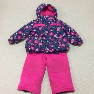 Girls size 4 snow suit