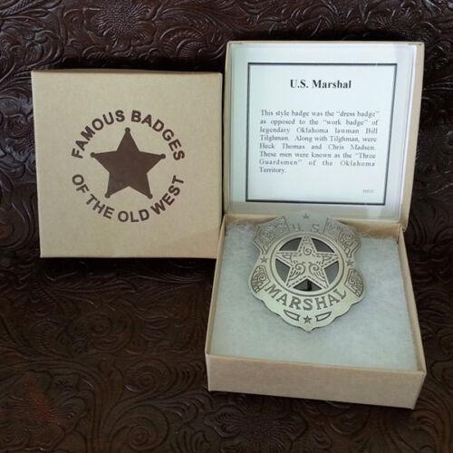 US Marshall Dress Badge--Replica-Silver