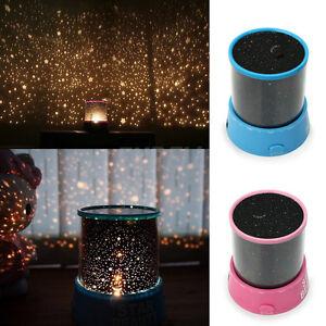 Lampada Proiettore LED Effetto Stelle Galassia Universo Casa Camerette Bambini  eBay