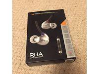 RHA T20i in-ear headphones NEW