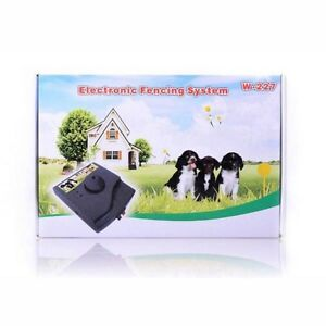 WATERPROOF WIRELESS ELECTRONIC DOG PET FENCE SYSTEM BARK COLLAR Cannington Canning Area Preview