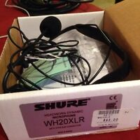 New boxed shure wh20xlr