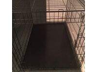 Black Dog Cage - Great for big or small dogs