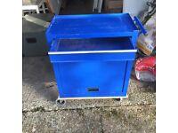 Garage metal cabinet