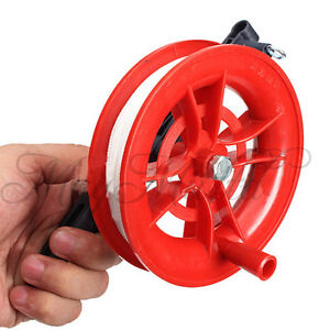 Outdoor-Fire-Wheel-Kite-Winder-Tool-Reel-Handle-W-100M-Twisted-String-Line-I