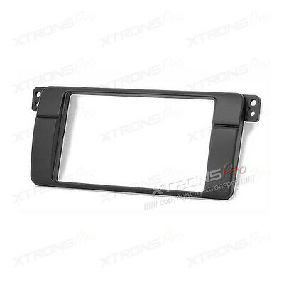 Xtrons BMW 3 Series E46 325 330 M3 1998-05 Radio Fascia Facia Surround Trim 2Din