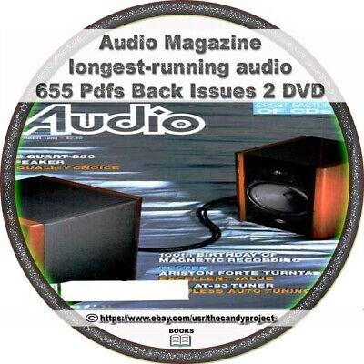 Audio Magazine 655 pdfs longest-running audio 1947 to 2000 after Radio Mag (Radio Mag)