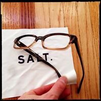 .SALT dark rim glasses