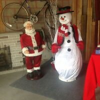 Xmas in July and garage sale