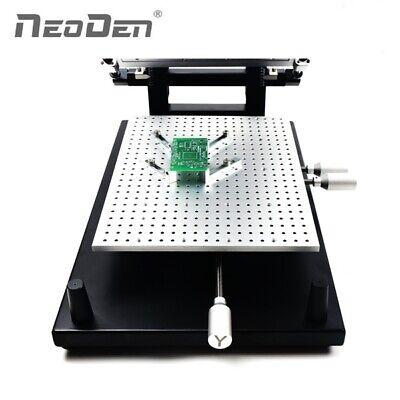Frameless Smd Solder Paste Stencil Printer For Pcb Prototyping
