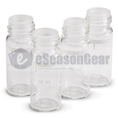 4x Hanna Hi 731331 Glass Cuvette 81 - 10ml Glass Sample Cell Vial Bottle