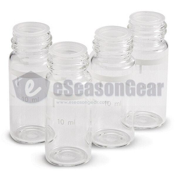 4x HANNA HI 731331 Glass Cuvette, #81 - 10ml glass sample cell vial bottle