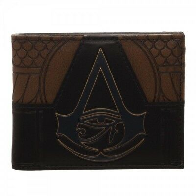Assassins Creed Origins Suit Up PU Faux Leather Bifold Wallet - Assassin Creed Suits