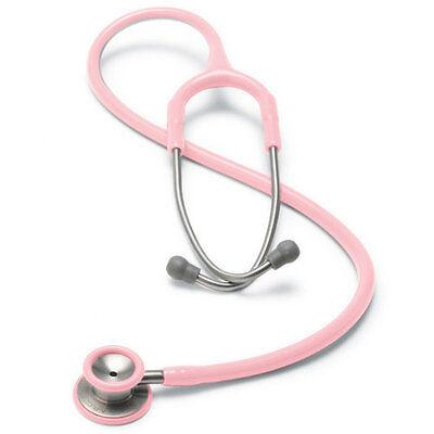 Pediatric Stethoscope 30.5l 22l Tubing Pink 1 Ea