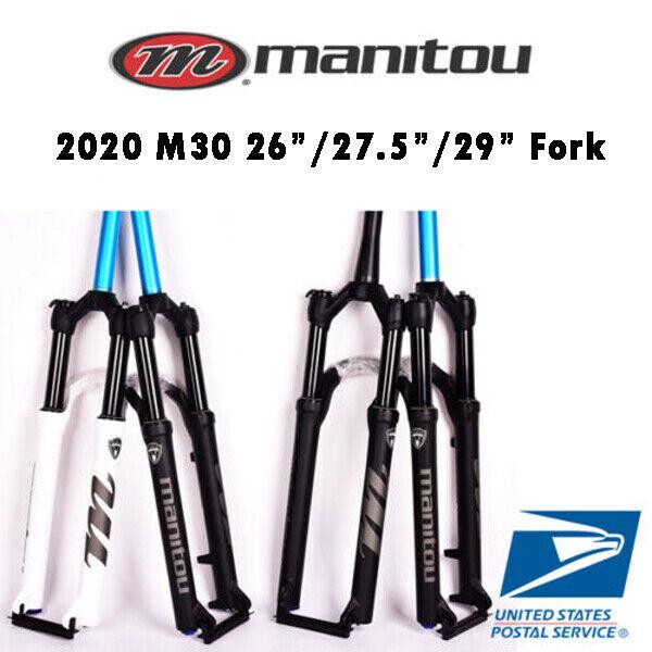 "2021 Manitou M30 Markhor 26"" 27.5"" 29"" Air Suspension Fork Manual Remote MTB"