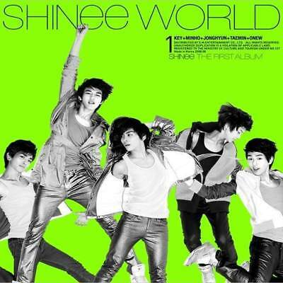 SHINEE [THE SHINEE WORLD] 1st First Album RANDOM CD+FotoBuch K-POP SEALED