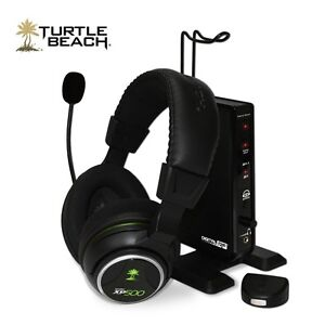 Turtle Beach EAR-FORCE Wireless Programable Headphones.