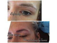 Microblading (semi permanent hair stroke brows)