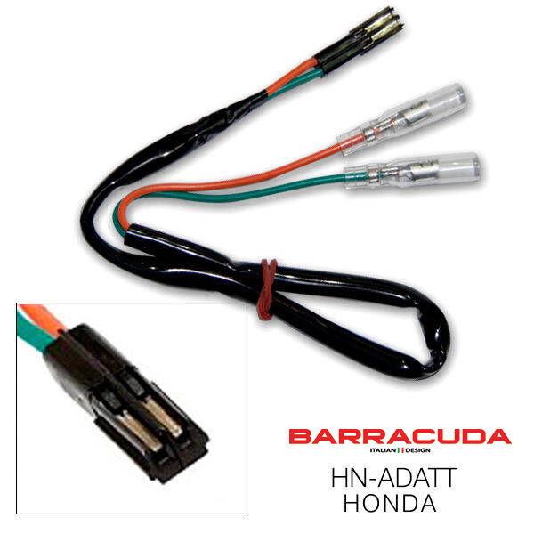 Barracuda Indicator Wiring Adaptor Plug Cables Yamaha MT-07 2013-2019