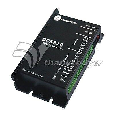 Leadshine Dcs810 Leadshine Dc Servo Drive Driver Controller 80vdc20a 400w Dc