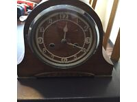 Antique chiming clock with key £10