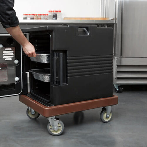 Cambro CD400131 Dark Brown Camdolly for Cambro UPC 400